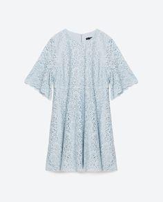 Image 8 of FLOUNCE SLEEVE DRESS from Zara