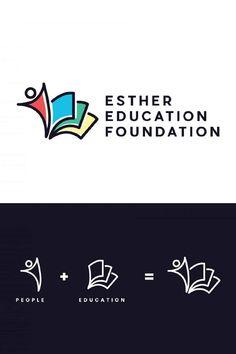 Education Logo Design, Logo Design Services, Logo Design Tutorial, Graphic Design Tutorials, Logo Design Trends, Logo Design Inspiration, Interactive Architecture, Lounge Logo, Foundation Logo