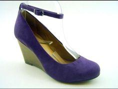 Sapato AZ Beringela  R$110,00