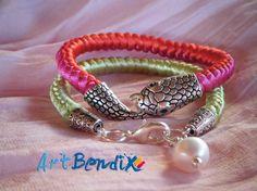 Pulseras /bracelets nudo de serpiente