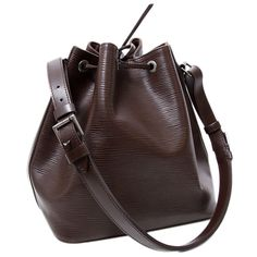 3fbaa24ef535 Labellov Louis Vuitton Vintage Noé Epi Leather Dark Brown ○ Buy and Sell  Authentic Luxury