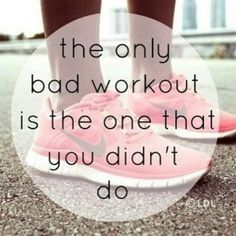 Workout quote ♥