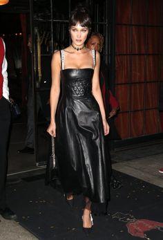 Bella Hadid In Christian Dior Spring 2017