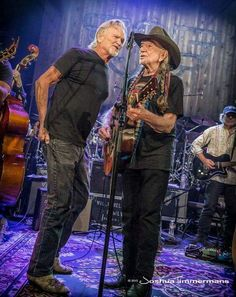 Willie Nelson and Kris Kristofferson
