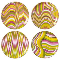 Jonathan Adler Acid Palm Coaster Set - Final Sale @Zinc_Door