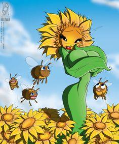 Sinful Sunflower by *jollyjack on deviantART