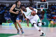 SAD: D'Tigers of Nigeria looses first game to Argentina in 2016 Rio Olympic Basketball  SAD: D'Tigers of Nigeria looses first game to Argentina in 2016 Rio Olympic Basketball  D'Tigers of Nigeria lost by 66-94 to Argentina in their first Group B match in Men's Olympic Basketball played earlier on Monday morning.Ebi Ere scored 14 of those points while Diogu added 15 points. More photos;  http://ift.tt/2b6NgWb Naija Soccer News Read More---http://adf.ly/1chCGU