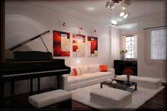 nice lamps for living room Sitting Room Decor, 3d Interior Design, Lamp Design, Interior Lighting, My Dream Home, Living Room Designs, Indoor, House Design, Furniture