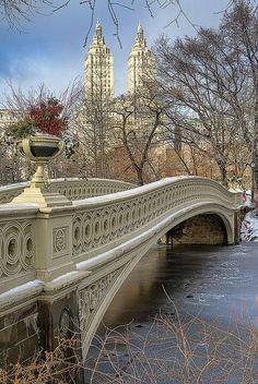 Bow Bridge, Central Park. New York City