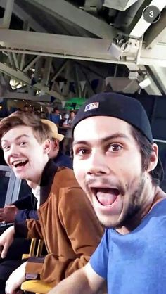 Thomas and Dylan being funny
