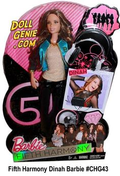 Fifth Harmony Dinah Jane Hansen Barbie Doll New Barbie Dolls, Barbie And Ken, Girl Dolls, Ally Brooke, Fifth Harmony, Bell Shoes, Cynthia Bailey, Jane Hansen, Camila And Lauren