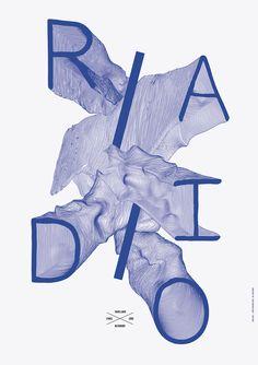 Metronomy: Radio Ladio, poster by Côme de Bouchony (2010) –Type OnlyUnit Editions
