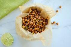 Cumin-Lime Roasted Chickpeas Is a Crunchy Fiber-Packed Snack