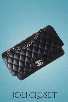 87a3885df847 Nothing screams class quite like a classic Chanel handbag. Fashioned from  black quilted lambskin