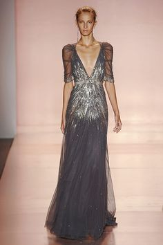 Jenny Packham sequined gown