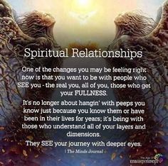 Spiritual relationships come through dedicated SELF work. There are millions of people doing their inner work, raising their vibration and connecting at deep meaningful levels. We raise our standard Soul Connection, Spiritual Connection, A Course In Miracles, Spiritual Wisdom, Spiritual Growth, Spiritual Metaphysics, Spiritual Awakening Quotes, Spiritual Path, Spiritual Guidance