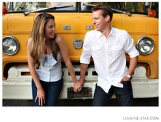 Garden Engagement : Elise + Chris - Jasmine Star Photography Blog