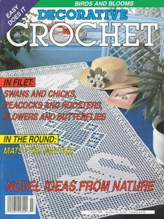 Decorative Crochet Magazines 16 - Gitte Andersen - Álbuns da web do Picasa Filet Crochet, Crochet Doily Diagram, Crochet Cross, Crochet Chart, Crochet Home, Thread Crochet, Crochet Doilies, Easy Crochet, Crochet Stitches