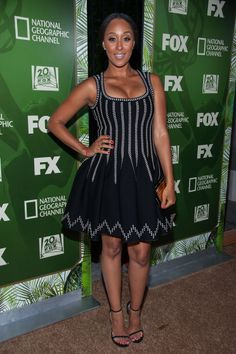 Tamera Mowry-Housley Fox afterparty