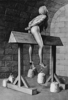 The Spanish Donkey is listed (or ranked) 3 on the list The Most Horrific Types of Medieval Torture Terre Plate, The Crow, Mundo Dos Games, Maleficarum, Dark Ages, Interesting History, Middle Ages, Fun Facts, Malaga