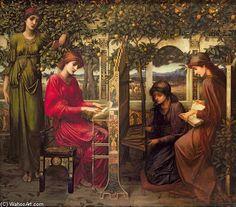 pintura sobre Santa Cecilia