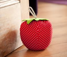 strawberry door stop