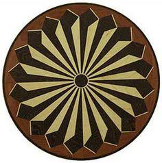 Hardwood Floor Medallion