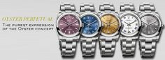 THE OYSTER PERPETUAL STANDS OUT WITH ITS EYE-CATCHING NEW DIALS IN ELEGANT AND SPORTY COLOURS  #ROLEX
