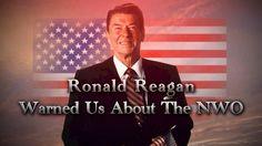 Ronald Reagan Warned Us About NWO & Agenda 21 - YouTube