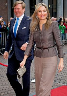 Dutch Royals attend Kings Day Concert at Theater De Spiegel