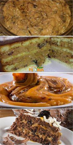 Recheio de ameixa com doce de leite! Uma delícia e fica bom em qualquer bolo e até pão de mel. Com certeza agradará a todos! #docedeleite #recheiodebolo #bolos #receitatodahora #receita #recipe #brazilianrecipe