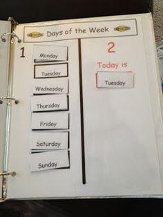 Autism Tank: Homework Binders