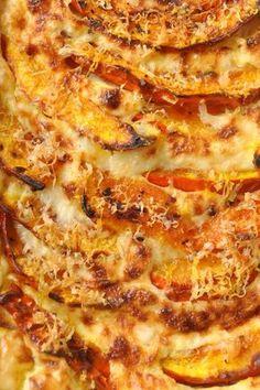 Gratin de potimarron rôti et parmesan ( c'est moi qui l'ai fait , Pascale Weeks ):