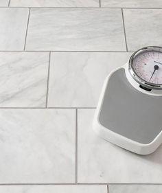 Serac™ Honed Tile for bathroom floor