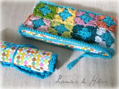 Cases for Crochet Tools (Lanas Hilos)
