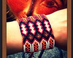SALE-Desert Bloom Friendship Bracelet by VillageGalleryDesign