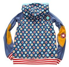 * * * PABLO * * * wir haben eine neue Sweatjacke...ein ganz toller Schnittmuster von bienvenido colorido... Ich finde die Taschenlösu...