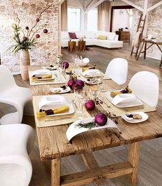 Decorar mesas para fin de año #Navidad #FindeAño #Christmas #NewYear