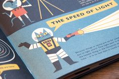 I am in love with this Astro Cat! By Ben Newman.  Flying Eye Books – PROF. ASTRO CAT'S FRONTIERS OF SPACE