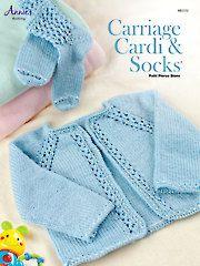 Carriage Cardi & Socks Knit Pattern - Electronic Download