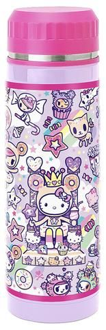 Sanrio Hello Kitty × Tokidoki Sweets Stainless Steel Bottle