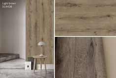 Light Brown Wood highly detailed non woven wallpaper by Room09