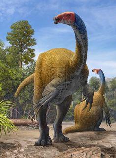Meet the Therizinosaur Dinosaurs of the Mesozoic Era