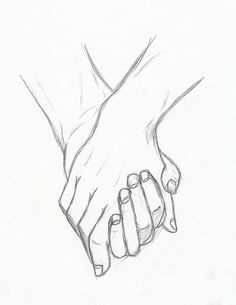 holding hands by Silouxa