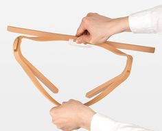 Inside Out Hanger by A'postrophe Design