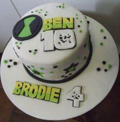 Brodie's 4th Birthday cake