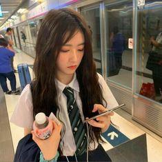 - A girl - Aesthetic Couple, Korean Aesthetic, Aesthetic Girl, Ulzzang Korean Girl, Cute Korean Girl, Asian Girl, Girl Korea, Korean Girl Fashion, Uzzlang Girl