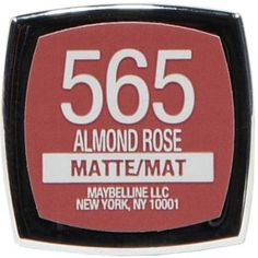 Maybelline New York Color Sensational Inti-Matte Nudes Lipstick, Almond Rose, 0.15 Oz, Brown