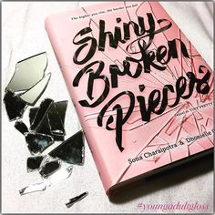 Current obsession...yes, I purposely broke a mirror just to use as props for…