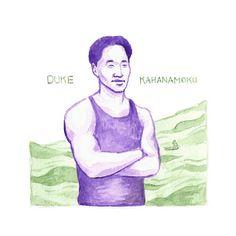 Duke Kahanamoku Investigate.Conversate. Illustrate: Asian Heritage month
